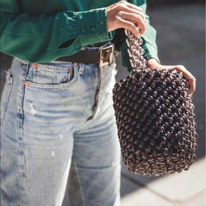Zara beaded bag